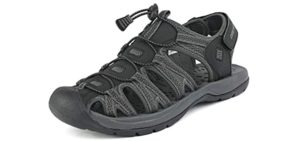DreamPairs Men's Adventurous - Sandals for Achilles Tendinitis