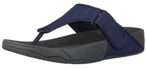 FitfLop Men's Trakk - Orthopedic Comfort Flip Flops