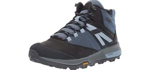 Merrell Women's Zion - Hiking Boot with Vibram Sole