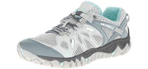 Merrell Women's All Out Blaze Aero Sport - Water Shoe with Vibram Sole