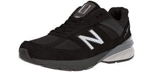 New Balance Men's 990V5 - Plantar Fasciitis Style Shoe