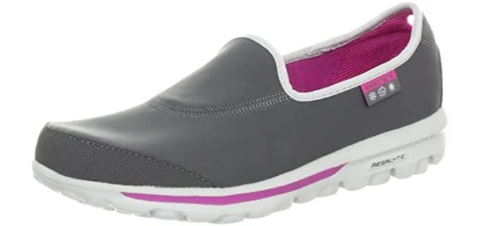 Skechers Women's Performance Go Walk - Slip On Shoes for Arthritic Feet