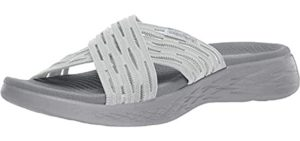 Skechers Women's On The Go 600 Sunrise - Cushioned Sandals