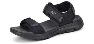 Skechers Men's 47101 - Foamy Cushioned Sandals