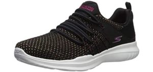 Skechers Women's Go Run Mojo 15113 - Bungee Lace Running Shoe
