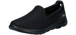 Skechers Women's Go Walk 5 - Neuropathy Slip On Shoes