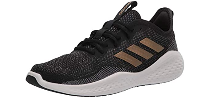 Adidas Unisex FluidFlow Bounce - Bunion Accommodating Sneakers