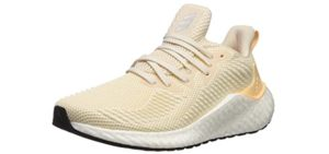 Adidas Women's Alphaboost - Casual and Walking Shoes for Flat Feet