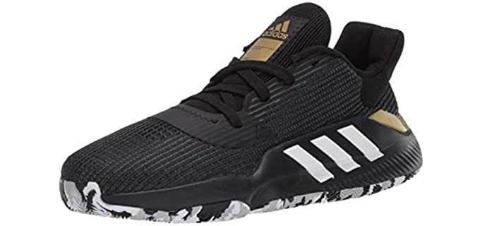 Adidas Men's Pro Bounce - Low Basketball Shoes