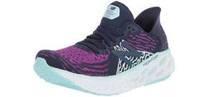 New Balance Women's 1080V10 Fresh Foam - Fresh Foam Technology Shoe for Arthritis