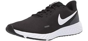 Nike Men's Revolution 5 - Walking Shoes Without Socks