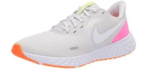 Nike Women's Revolution 5 - Walking Shoes Without Socks