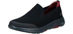 Skechers Men's Go Walk 5 - Slip On Plantar Fasciitis Shoe