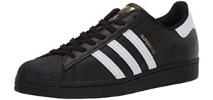 Adidas Men's Superstar Originals - Leather Shoes for Casual Wear