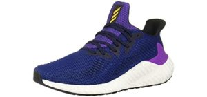 Adidas Men's Alphaboost - Plantar Fasciitis casual and Running Shoes