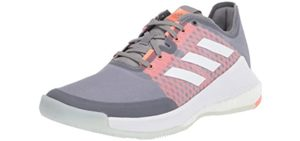 Adidas Men's Crazy Flight - Wide Feet Training Shoe