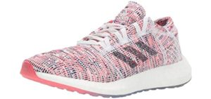 Adidas Women's Pureboost - Running Shoe for High Arches