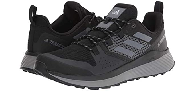 Hiking shoes by Adidas