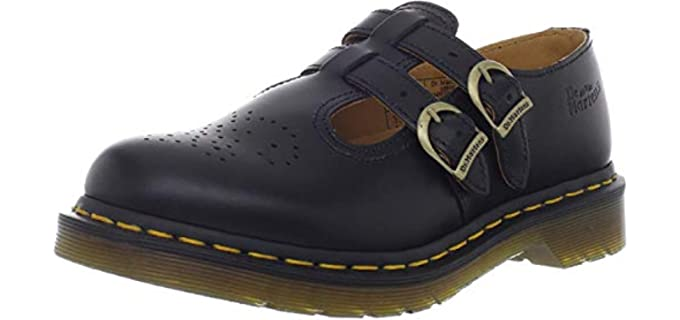 Dr Martens Women's Mary jane - Shoe for Varicose Veins