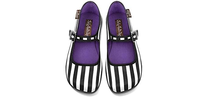 Hot Chocolate Women's Chocolaticas - Flat Varicose Veins Shoes