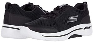 Skechers Women's Go Walk Arch Fit - Lace Up Shoe for