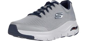 Skechers Men's Arch Fit oxford - Walking Shoe with Arch Supportr