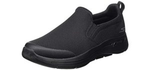 Skechers Men's Performance Go Walk Arch Fit - Slip On Walking Shoe