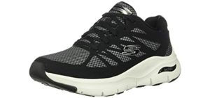 Skechers Women's Arch Fit - Walking Shoe with Arch Supportr