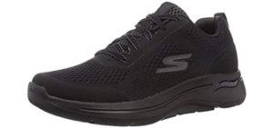 Skechers Men's Go Walk Arch Fit - Lace Up Shoe for