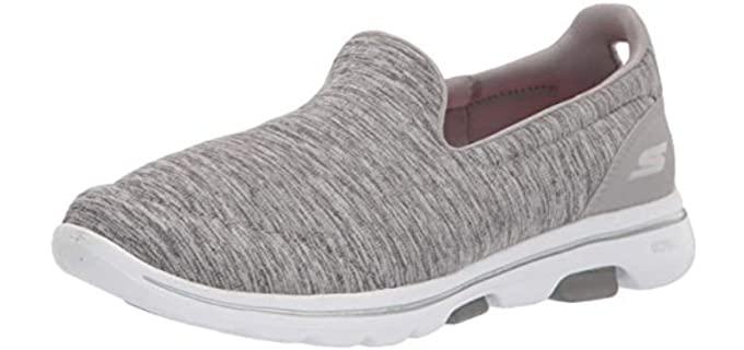 Skechers Women's Go Walk 5 Honor - Slip On Shoe for Varicose Veins