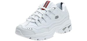Skechers Women's Energy - Casual Shoe for Overpronation and Flat Feet
