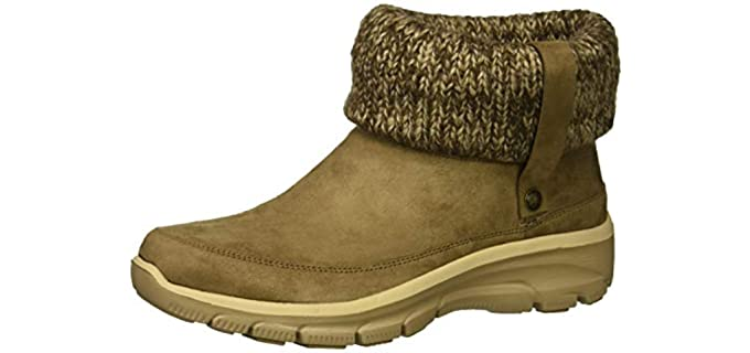 Skechers Women's Easy Going - Ankle Boots for Walking