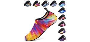Anluke Women's Watershoe - Water Friendly Waterpark Shoes