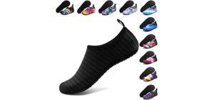 Anluke Men's Watershoe - Water Friendly Waterpark Shoes