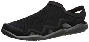 Crocs Men's Swiftwater - Water Friendly Shoes for Waterparks