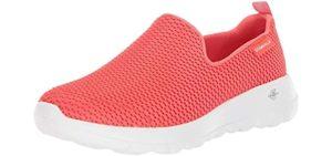 Skechers Women's Go Walk Joy - Slip On Walking Shoes for Waterparks