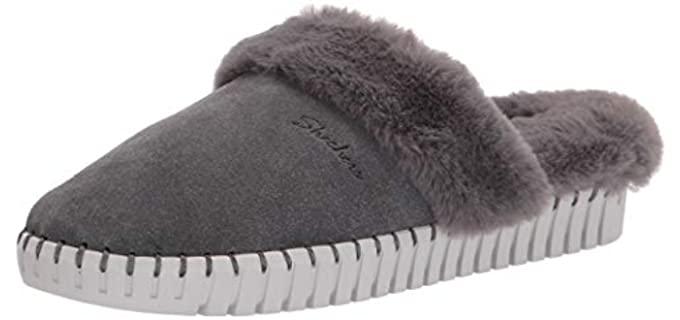 Skechers Women's Sepulveda - Faux Fur Lined Slippers