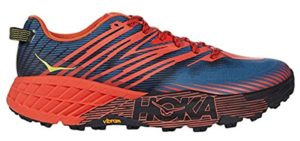 Hoka One Men's Speedgoat 4 - Diabetics Cross Training Shoe