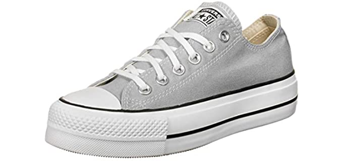 Converse Women's Chuck Taylor all Star -  Shoe for Long Dresses
