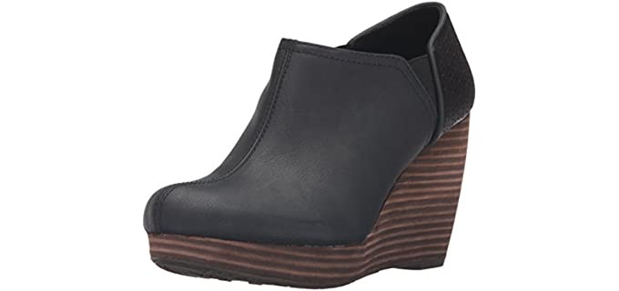 Dr. Scholls Women's Harlow - Ankle Boot for Long Dresses