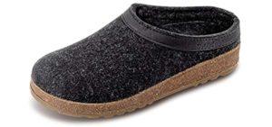 Haflinger Men's Grizzly - Plus Sized Slip-On Loafer