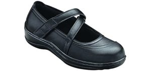 Orthofeet Women's Celina - Shoe for a Foot Drop