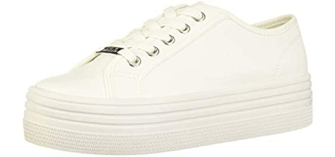 Steve Madden Women's Bobbi 30 - Sneaker  for Long Dresses