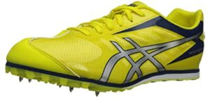 Asics Men's Hyper LD 5 Track - Spiked Shoes for Sprinting