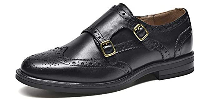 Beau Today Women's Leather - Monk Shoes