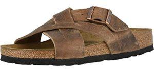 Birkenstock Men's Lugano - Sandals for Metatarsalgia