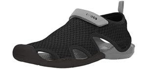 Crocs Women's Swiftwater - Water Friendly Shoes for Waterparks