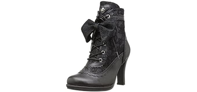 Demonia Women's Glam Boot - Goth Shoes