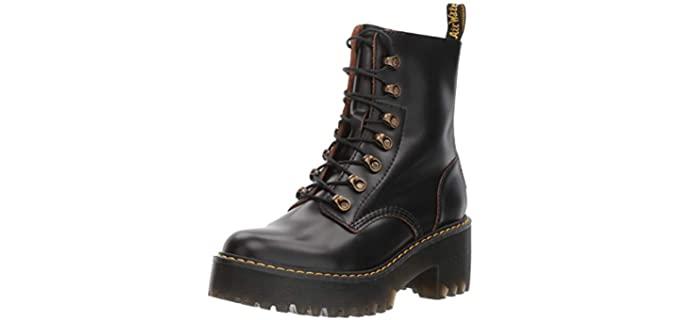 Dr. Martens Women's Leona - Goth Shoes