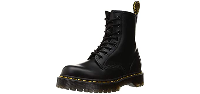 Dr. Martens Women's Vegan 1460 - Comfortable Lace Up Ankle Boots for Walking